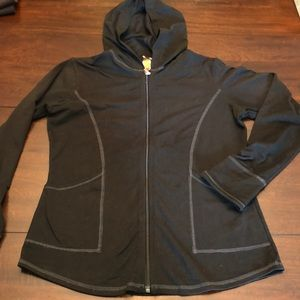 Lucy black athletic jacket